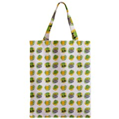 St Patrick S Day Background Symbols Zipper Classic Tote Bag