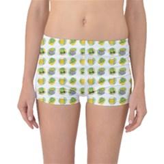 St Patrick S Day Background Symbols Boyleg Bikini Bottoms