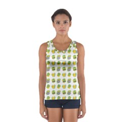 St Patrick S Day Background Symbols Women s Sport Tank Top