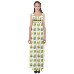St Patrick S Day Background Symbols Empire Waist Maxi Dress