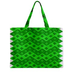 Shamrocks 3d Fabric 4 Leaf Clover Mini Tote Bag