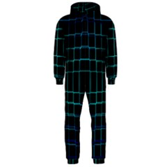 Abstract Adobe Photoshop Background Beautiful Hooded Jumpsuit (Men)