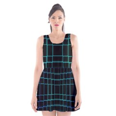 Abstract Adobe Photoshop Background Beautiful Scoop Neck Skater Dress