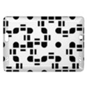 Black And White Pattern Amazon Kindle Fire HD (2013) Hardshell Case View1