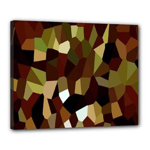 Crystallize Background Canvas 20  x 16