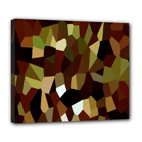 Crystallize Background Deluxe Canvas 24  x 20