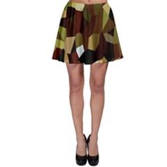 Crystallize Background Skater Skirt