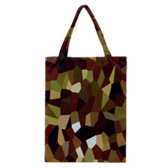 Crystallize Background Classic Tote Bag