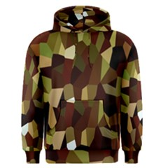 Crystallize Background Men s Pullover Hoodie