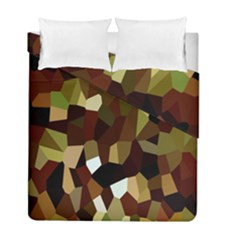 Crystallize Background Duvet Cover Double Side (full/ Double Size)