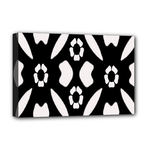 Abstract Background Pattern Deluxe Canvas 18  x 12
