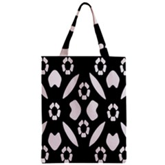 Abstract Background Pattern Zipper Classic Tote Bag