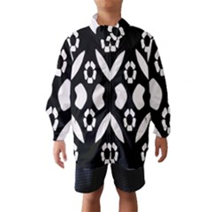 Abstract Background Pattern Wind Breaker (Kids)
