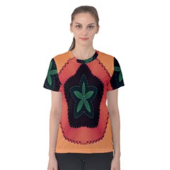 Fractal Flower Women s Cotton Tee