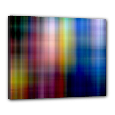 Colorful Abstract Background Canvas 20  X 16