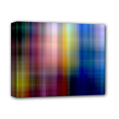 Colorful Abstract Background Deluxe Canvas 14  x 11