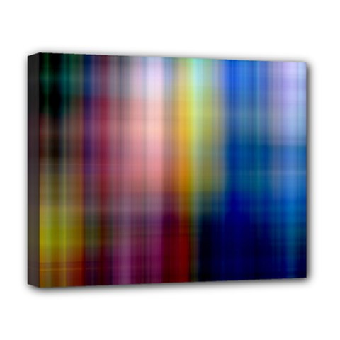 Colorful Abstract Background Deluxe Canvas 20  x 16