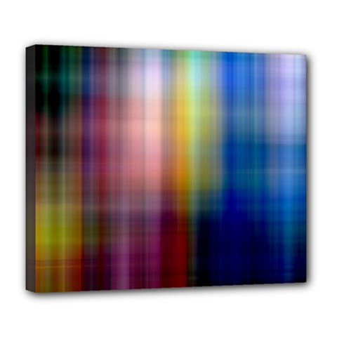 Colorful Abstract Background Deluxe Canvas 24  X 20