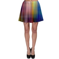 Colorful Abstract Background Skater Skirt