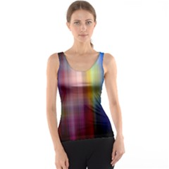 Colorful Abstract Background Tank Top
