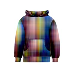 Colorful Abstract Background Kids  Pullover Hoodie