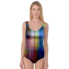 Colorful Abstract Background Princess Tank Leotard
