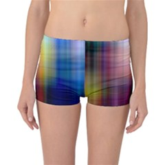 Colorful Abstract Background Reversible Bikini Bottoms