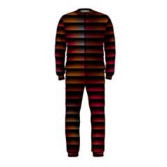 Colorful Venetian Blinds Effect Onepiece Jumpsuit (kids)
