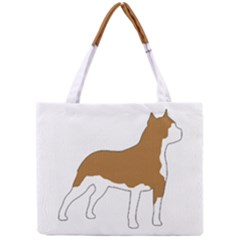 American Staffordshire Terrier  Silo Color Mini Tote Bag