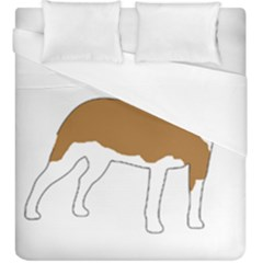 American Staffordshire Terrier  Silo Color Duvet Cover (King Size)