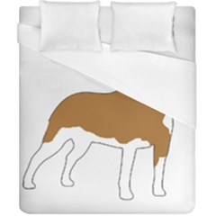 American Staffordshire Terrier  Silo Color Duvet Cover (California King Size)