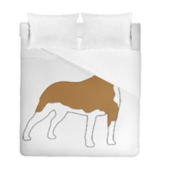 American Staffordshire Terrier  Silo Color Duvet Cover Double Side (Full/ Double Size)