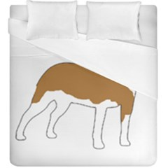 American Staffordshire Terrier  Silo Color Duvet Cover Double Side (King Size)