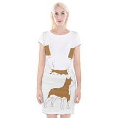 American Staffordshire Terrier  Silo Color Suspender Skirt