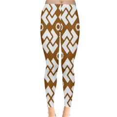 Art Abstract Background Pattern Leggings