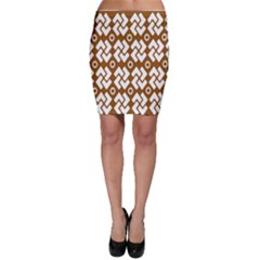 Art Abstract Background Pattern Bodycon Skirt