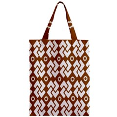 Art Abstract Background Pattern Zipper Classic Tote Bag