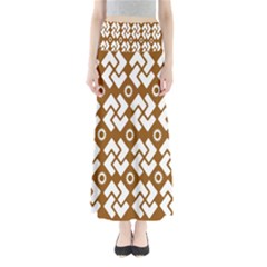 Art Abstract Background Pattern Maxi Skirts