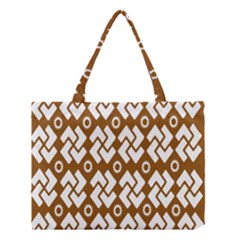 Art Abstract Background Pattern Medium Tote Bag