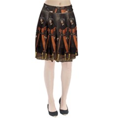 Count Vlad Dracula Pleated Skirt