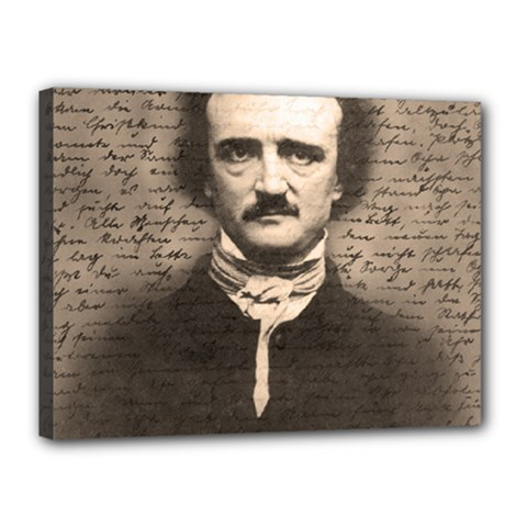 Edgar Allan Poe  Canvas 16  x 12