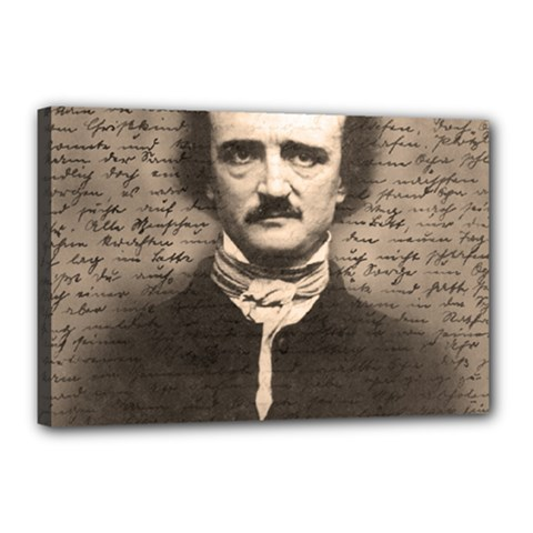 Edgar Allan Poe  Canvas 18  x 12