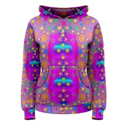 Colors And Wonderful Flowers On A Meadow Women s Pullover Hoodie