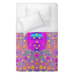Colors And Wonderful Flowers On A Meadow Duvet Cover (Single Size)