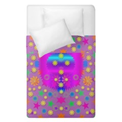 Colors And Wonderful Flowers On A Meadow Duvet Cover Double Side (Single Size)