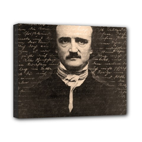 Edgar Allan Poe  Canvas 10  x 8
