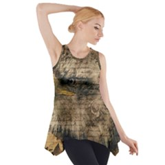 Vintage Eagle  Side Drop Tank Tunic
