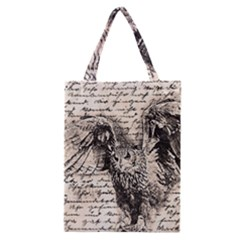 Vintage owl Classic Tote Bag