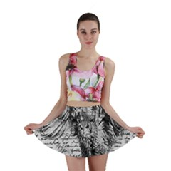 Vintage owl Mini Skirt