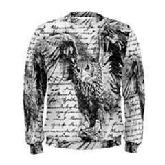 Vintage owl Men s Sweatshirt